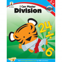 CD-104580 - I Can Master Division Gr 3-4 in Multiplication & Division