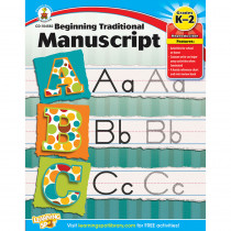 CD-104582 - Beginning Traditional Manuscript Gr K-2 in Handwriting Skills