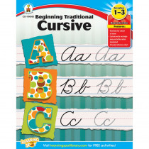 CD-104583 - Beginning Traditional Cursive Gr 1-3 in Handwriting Skills