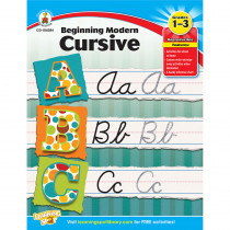CD-104584 - Beginning Modern Cursive Gr 1-3 in Handwriting Skills