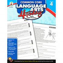 CD-104599 - Language Arts 4 Today Gr 4 in Activities