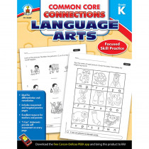 CD-104607 - Language Arts Gr K Common Core Connections in Comprehension