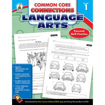 CD-104608 - Language Arts Gr 1 Common Core Connections in Comprehension