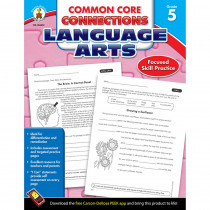 CD-104612 - Language Arts Gr 5 Common Core Connections in Comprehension