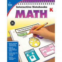 CD-104645 - Interactive Notebooks Math Gr K in Math