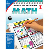 CD-104646 - Interactive Notebooks Math Gr 1 in Math