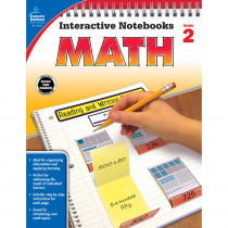 CD-104647 - Interactive Notebooks Math Gr 2 in Math