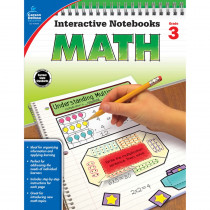 CD-104648 - Interactive Notebooks Math Gr 3 in Math