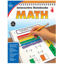 CD-104649 - Interactive Notebooks Math Gr 4 in Math