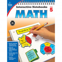 CD-104650 - Interactive Notebooks Math Gr 5 in Math