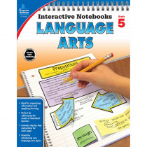 CD-104656 - Interactive Notebooks Gr 5 Language Arts in Language Arts