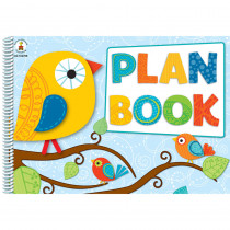 CD-104788 - Boho Birds Plan Book in Plan & Record Books