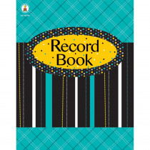CD-104795 - Black White & Bold Record Book in Plan & Record Books