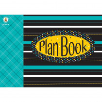 CD-104796 - Black White & Bold Plan Book in Plan & Record Books