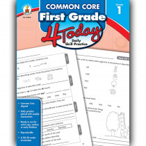 CD-104818 - First Grade 4 Today Common Core in Cross-cirriculum