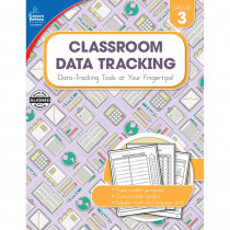 CD-104919 - Classroom Data Tracking Gr 3 in Teacher Resources