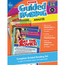 CD-104959 - Guided Reading Analyze Gr 3-4 in Comprehension