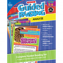 CD-104960 - Guided Reading Analyze Gr 5-6 in Comprehension