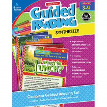 CD-104965 - Guided Reading Synthesize Gr 3-4 in Comprehension