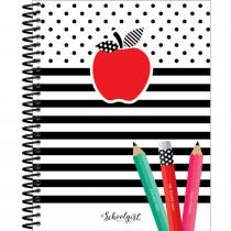Black, White & Stylish Brights Teacher Planner - CD-105029 | Carson Dellosa Education | Plan & Record Books