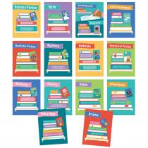 Mini Posters: Literary Genres Poster Set, 14 Pieces - CD-106012 | Carson Dellosa Education | Language Arts