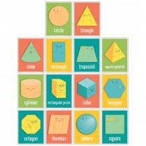 Shapes Mini Posters, Set of 14 - CD-106038 | Carson Dellosa Education | Math