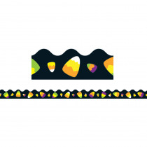 CD-108221 - Candy Corn Scalloped Border in Holiday/seasonal