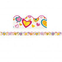 CD-108222 - Hearts Scalloped Border in Holiday/seasonal