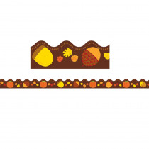 CD-108223 - Acorns & Pumpkins Scalloped Border in Holiday/seasonal