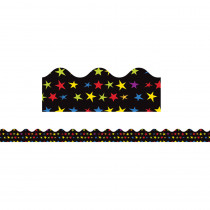 CD-108235 - Super Power Super Stars Scalloped Borders in Border/trimmer