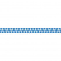 CD-108241 - Super Power Blue Chevron Straight Borders in Border/trimmer