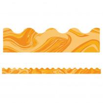 CD-108378 - Orange Marble Scalloped Borders in Border/trimmer