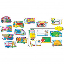 CD-110040 - Center Signs Mini Bulletin Board Set 10/Pk in Miscellaneous
