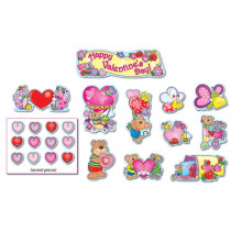 CD-110060 - Bulletin Board Set Mini Valentines Day in Holiday/seasonal