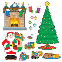CD-110062 - Bulletin Board Set Christmas Scene in Holiday/seasonal