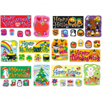 CD-110180 - Holidays Bulletin Board Set in Holiday/seasonal