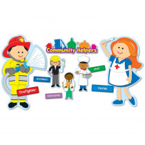CD-110196 - Community Helpers Bulletin Board Set in Social Studies