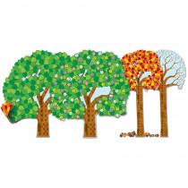 CD-110209 - Big Seasonal Tree Bulletin Board Set in Holiday/seasonal