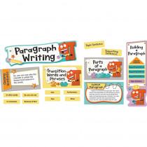 CD-110348 - Paragraph Writing Mini Bulletin Board Set Gr 2-5 in Language Arts