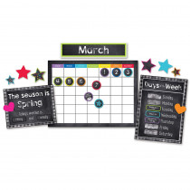 Stars Calendar Bulletin Board Set - CD-110404 | Carson Dellosa Education | Miscellaneous