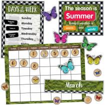 CD-110424 - Calendar Bulletin Board Set Woodland Whimsy in Classroom Theme