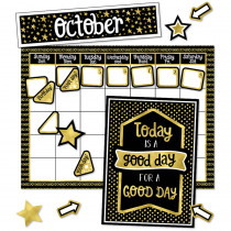 CD-110434 - Sparkle And Shine Calendar Bb St in Classroom Theme