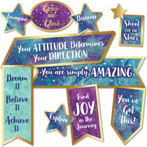 CD-110438 - Motivational Signs Mini Bb St Galaxy in Classroom Theme