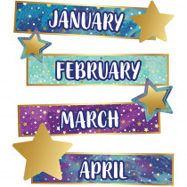 CD-110451 - Galaxy Months Of The Yr Mini Bb St in Classroom Theme