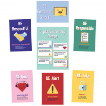 Digital Citizenship Bulletin Board Set - CD-110475 | Carson Dellosa Education | Social Studies