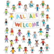 All Are Welcome Bulletin Board Set - CD-110533 | Carson Dellosa Education | Motivational