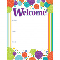 CD-114194 - Calypso Welcome Chart in Classroom Theme