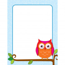 CD-114200 - Colorful Owls Chart in Classroom Theme