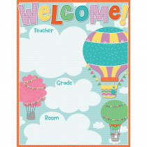 CD-114224 - Welcome Chartlet Gr Pk-8 Decorative in Classroom Theme
