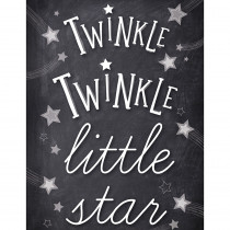 CD-114256 - Stars Twinkle Twinkle Chart School Girl Style in Inspirational